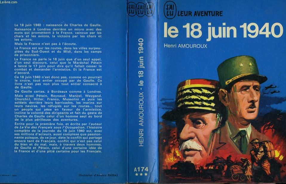 LE 18 JUIN 1940