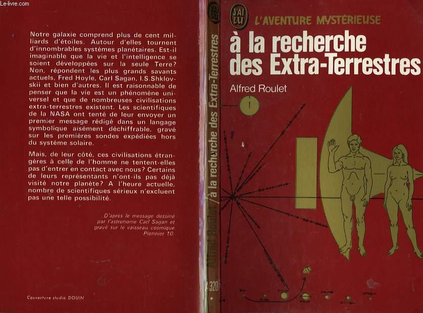 """Liste de l'ancienne collection """"j'ai Lu - L'Aventure Mystèrieuse"""" sur les ovnis et ET RO90071650"""