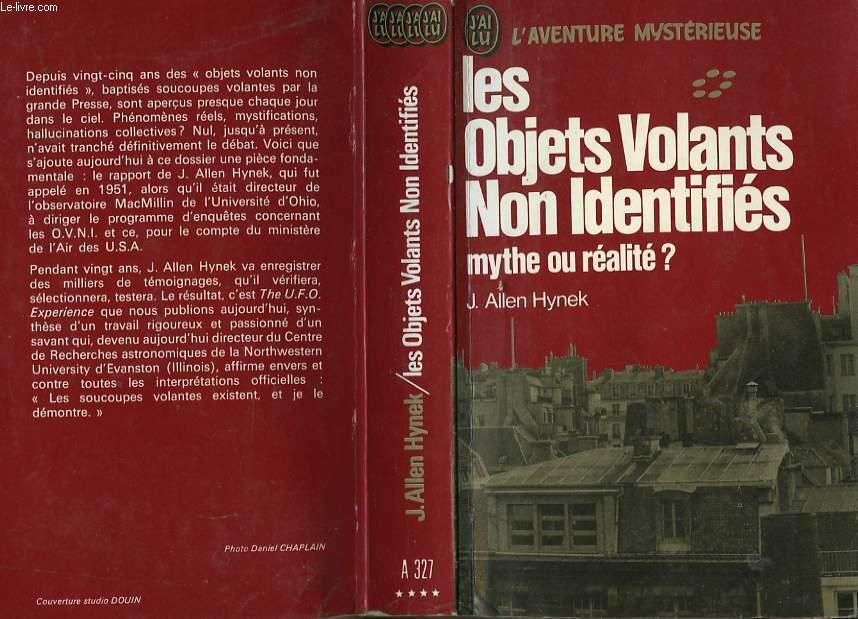 """Liste de l'ancienne collection """"j'ai Lu - L'Aventure Mystèrieuse"""" sur les ovnis et ET RO90071657"""
