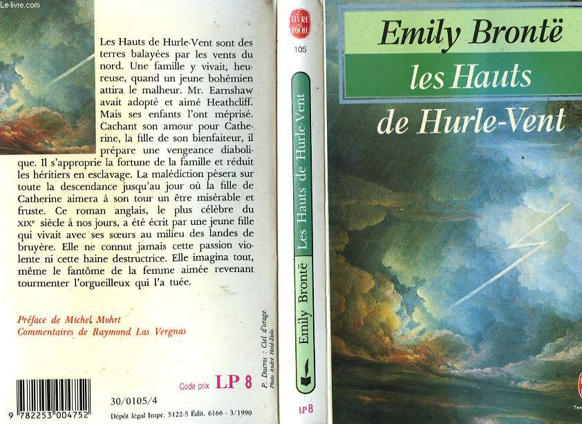 LES HAUTS DE HURLE-VENT - WUTHERING HEIGHTS