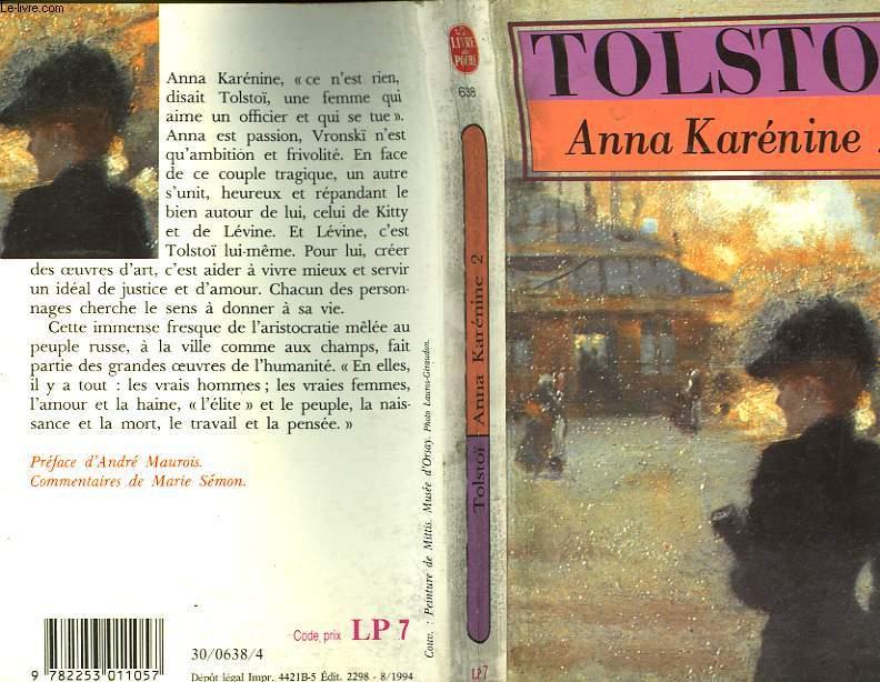 ANNA KARENINE - TOME II