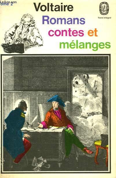ROMANS CONTES ET MELANGES - TOME II