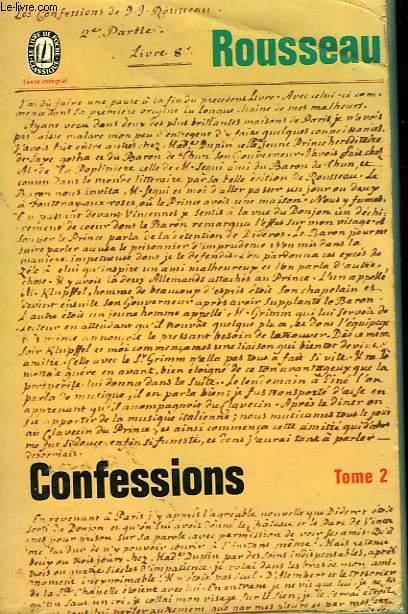 LES CONFESSIONS TOME II