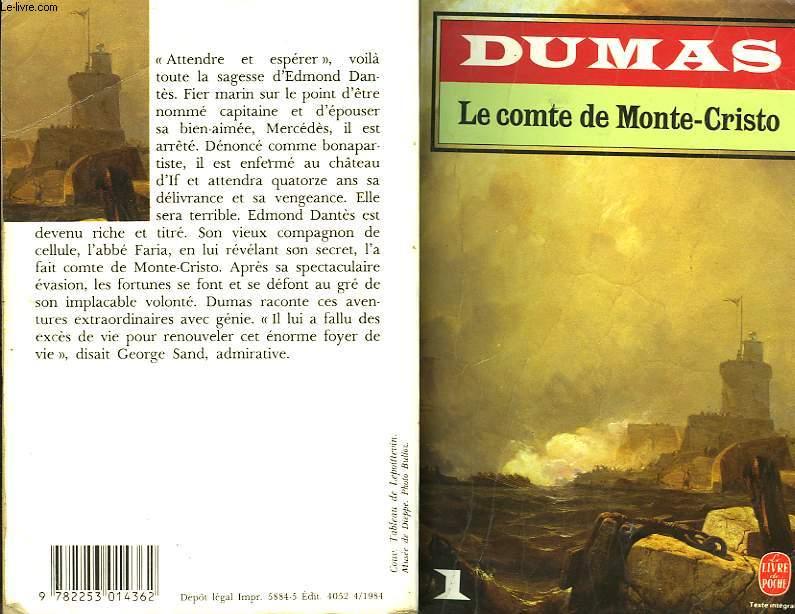 LE COMTE DE MONTE-CRISTO TOME I