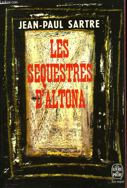 LES SEQUESTRES D'ALTONA - PIECE EN 5 ACTES