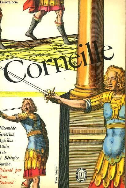 THEATRE DE CORNEILLE TOME 3