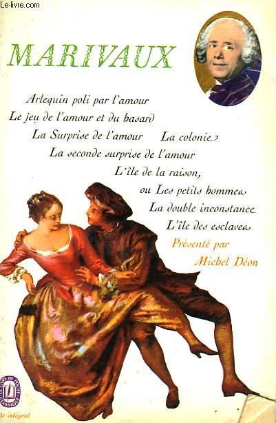THEATRE DE MARIVAUX TOME 1