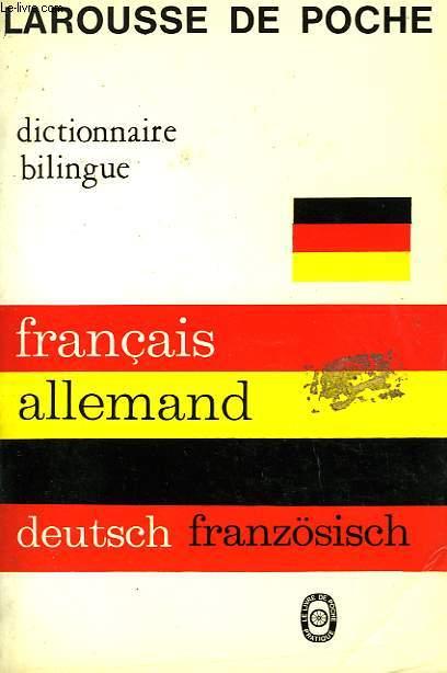 DICTIONNAIRE BILINGUE FRANCAIS - ALLEMAND