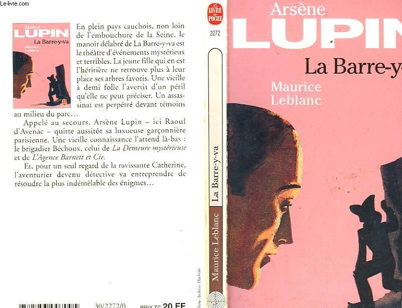 ARSENE LUPIN - LE BARRE-Y-VA