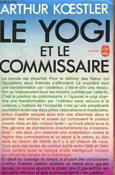 LE YOGI ET LA COMMISSAIRE