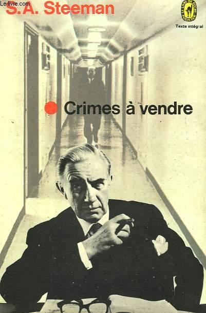 CRIMES A VENDRE