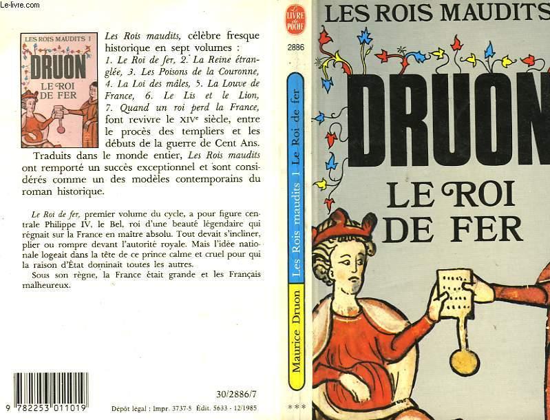 LES ROIS MAUDITS TOME 1 - LE ROI DE FER