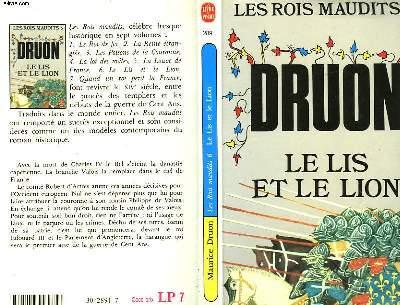 LES ROIS MAUDITS TOME 6 - LE LIS ET LE LION