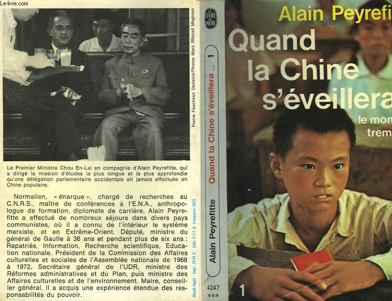 QUAND LA CHINE S'EVEILLERA... LE MONDE TREMBLERA TOME 1