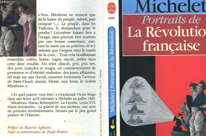 PORTRAITS DE LA REVOLUTION FRANCAISE