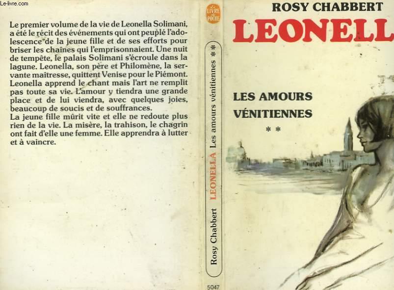 LEONELLA - LES AMOURS VENITIENNES TOME 2