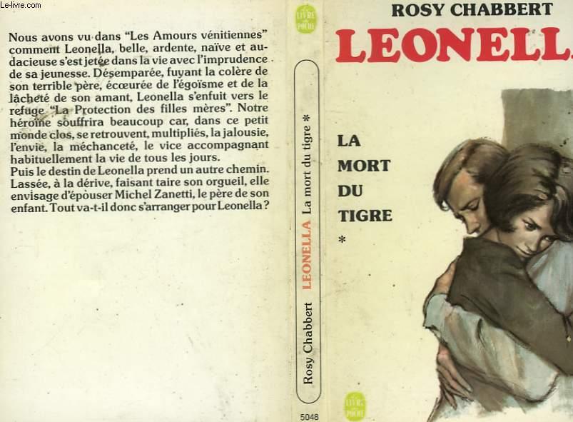 LEONELLA - LA MORT DU TIGRE TOME 1