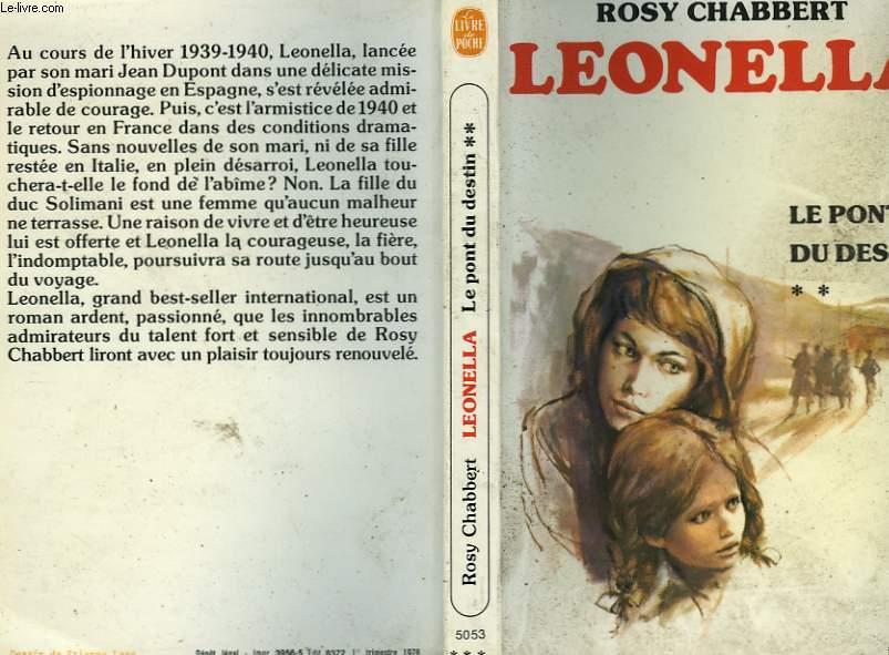 LEONELLA - LE PONT DU DESTIN TOME 2