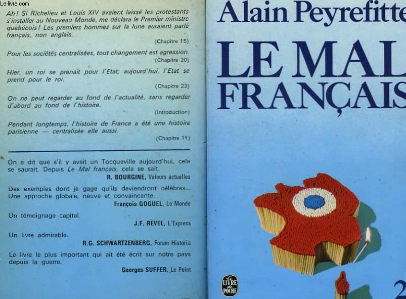 LE MAL FRANCAIS TOME 1