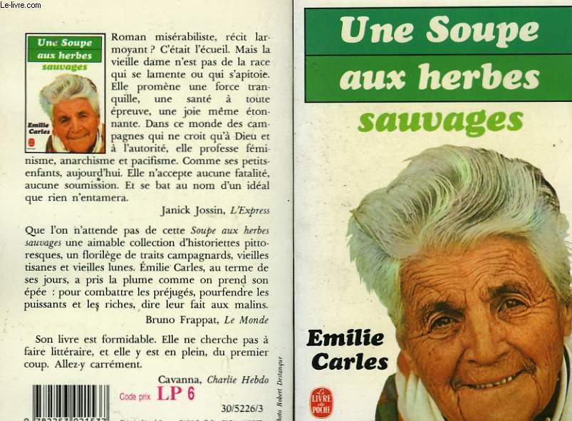 Résultats de recherche d'images pour «Une soupe aux herbes sauvages livre»