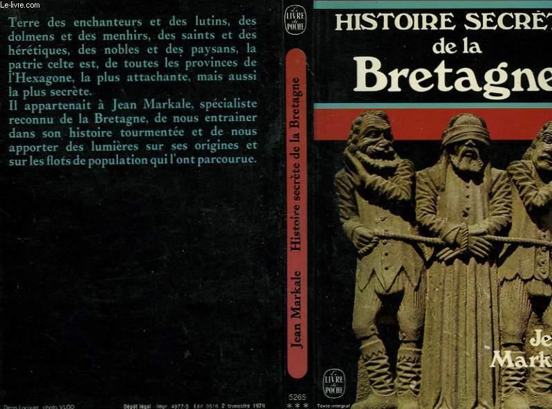 HISTOIRE SECRETE DE LA BRETAGNE