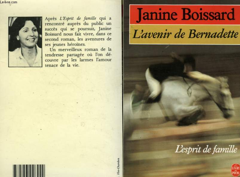 L'AVENIR DE BERNADETTE - L'ESPRIT DE FAMILLE