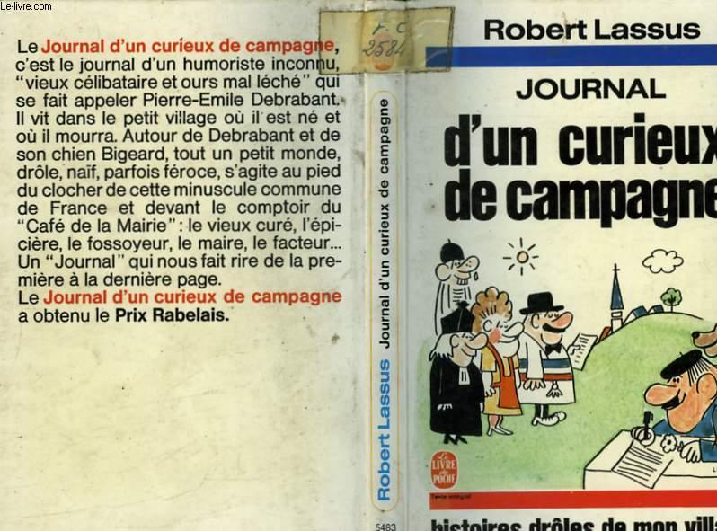 JOURNAL D'UN CURIEUX DE CAMPAGNE