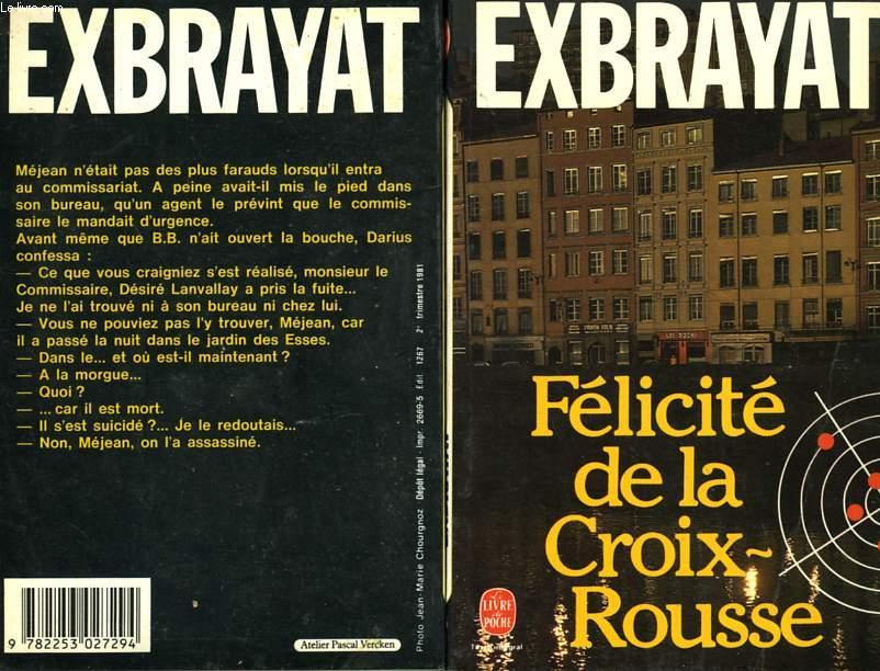 FELICITE DE LA CROIX ROUSSE