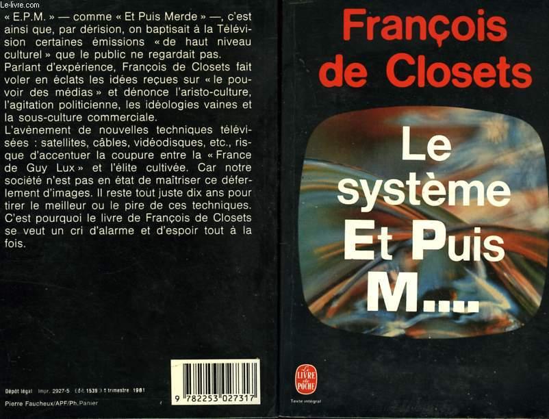 LE SYSTEME ET PUIS M...
