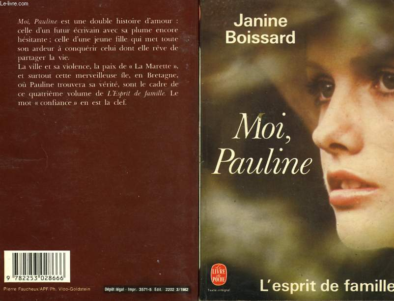 MOI PAULINE - L'ESPRIT DE FAMILLE