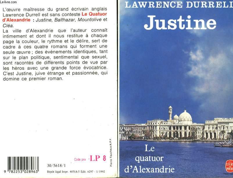 LE QUATUOR D'ALEXANDRIE - JUSTINE