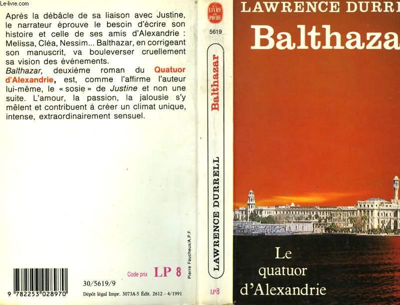 LE QUATUOR D'ALEXANDRIE - BALTHAZAR