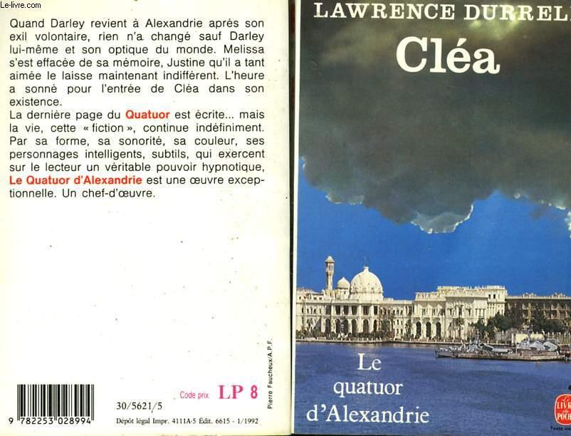 LE QUATUOR D'ALEXANDRIE - CLEA