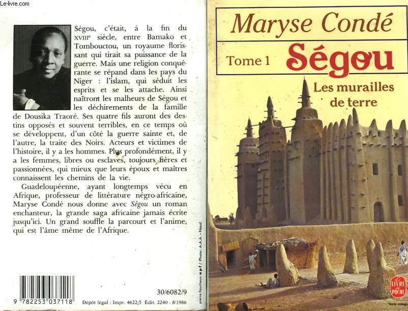 SEGOU TOME 1 - LES MURAILLES DE TERRE