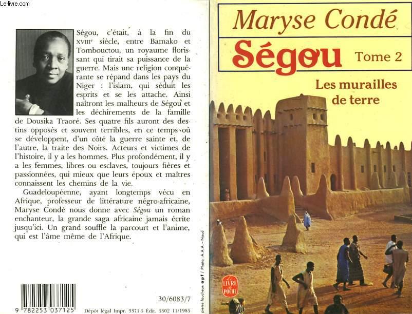 SEGOU TOME 2 - LES MURAILLES DE TERRE