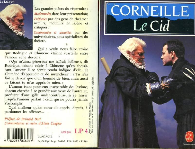 LE CID - TRAGEDIE 1637