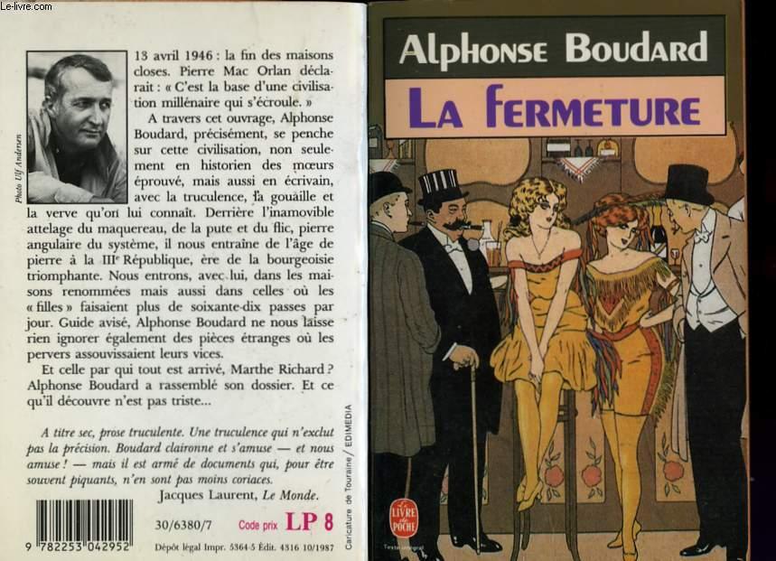 LA FERMETURE - 13 AVRIL 1946 - LA FIN DES MAISONS CLOSES