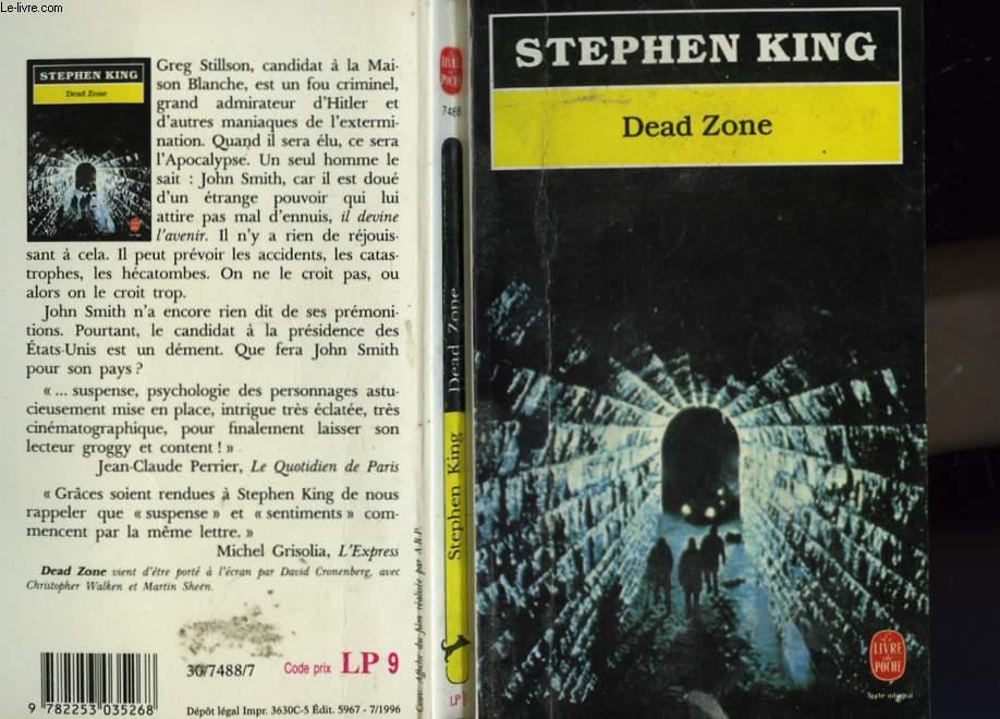 DEAD ZONE - L'ACCIDENT