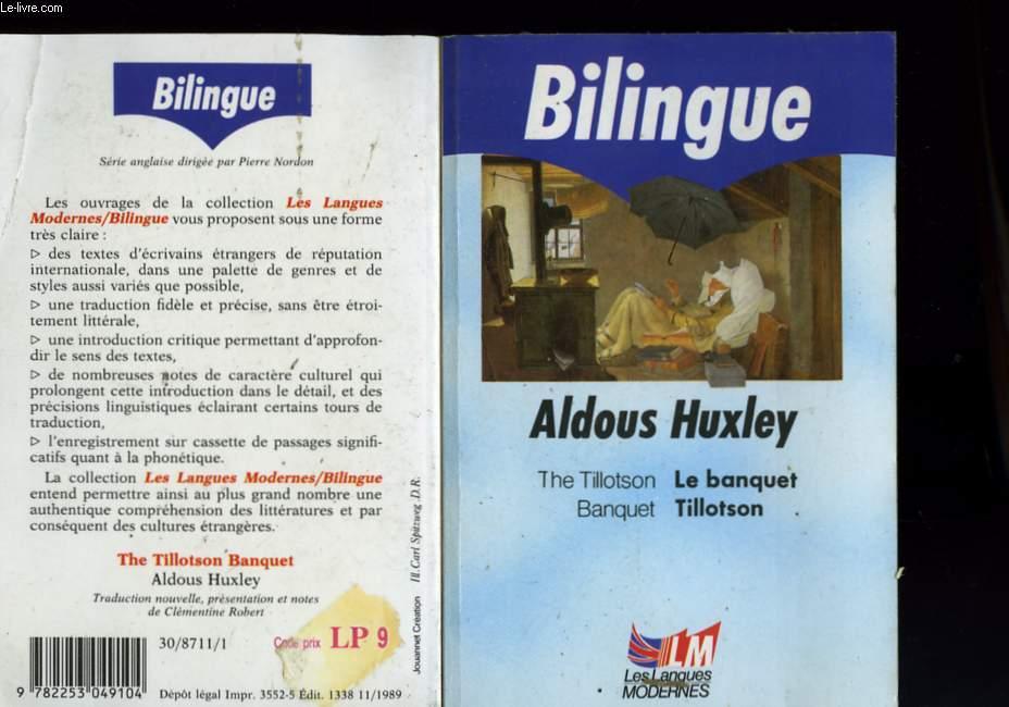LE BANQUET TILLOTSON - BILINGUE
