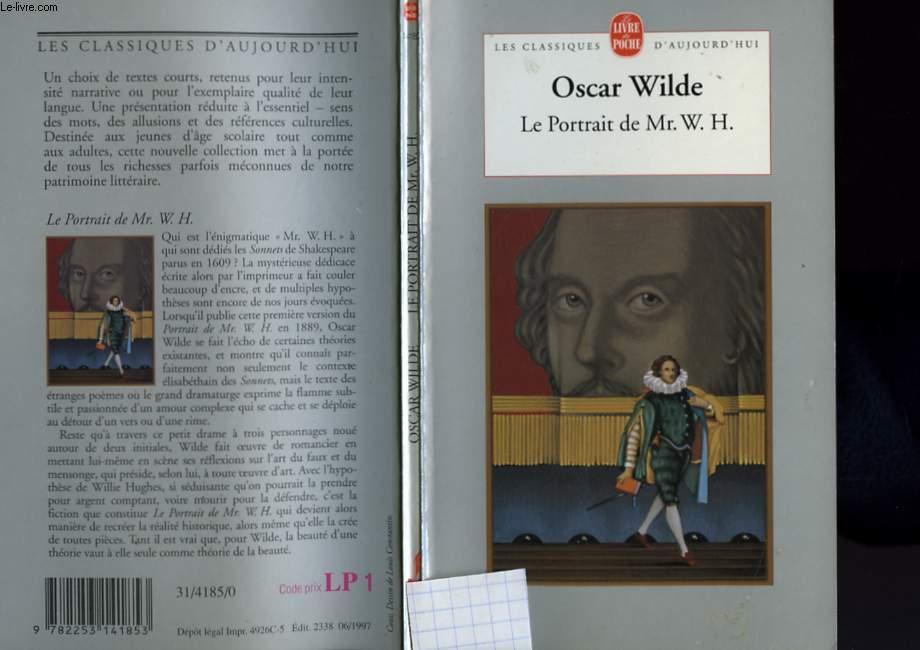LE PORTRIT DE MR. W. H.