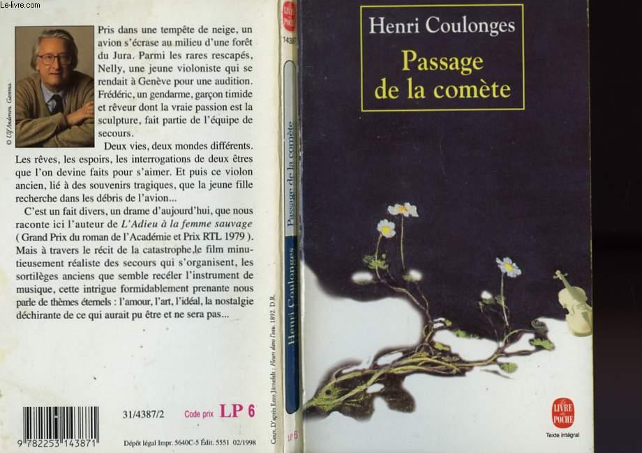 PASSAGE DE LA COMETE