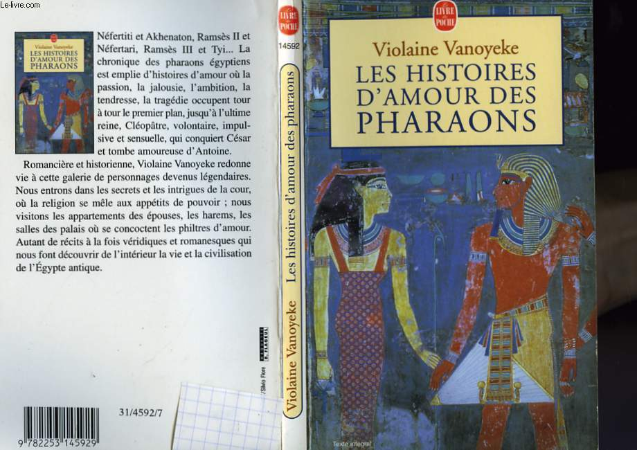 LES HISTOIRES D'AMOUR DES PHARAONS