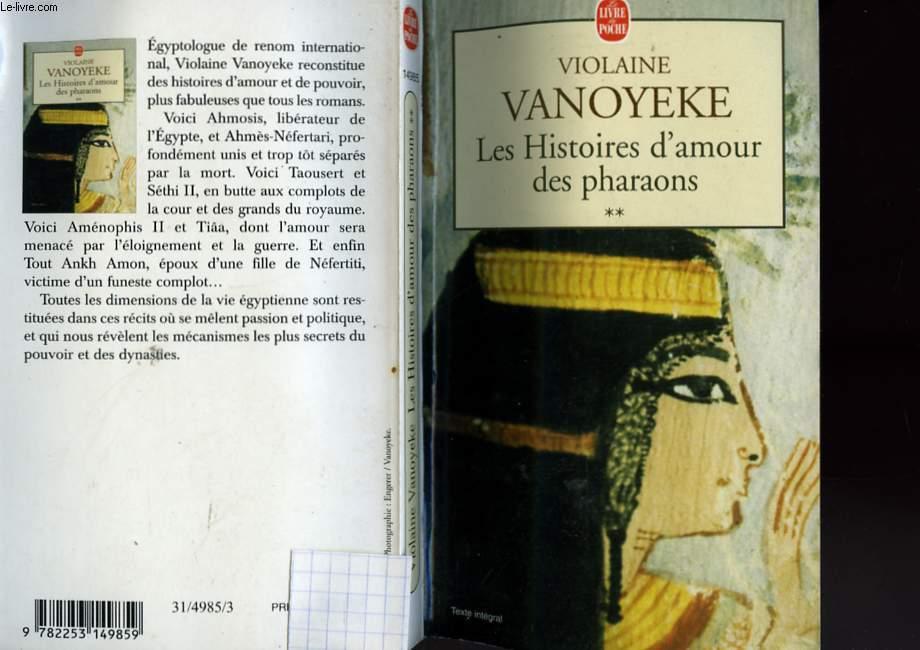 LES HISTOIRES D'AMOUR DES PHARAONS TOME 2