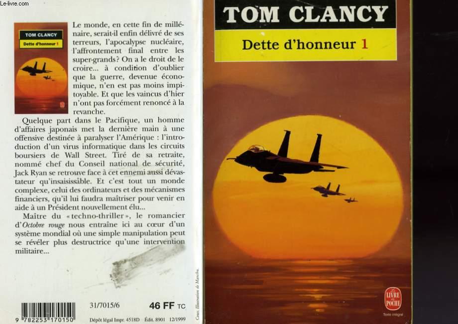 DETTE D'HONNEUR TOME 1