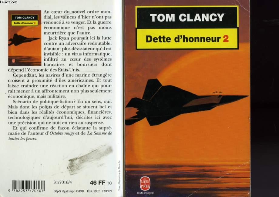 DETTE D'HONNEUR TOME 2