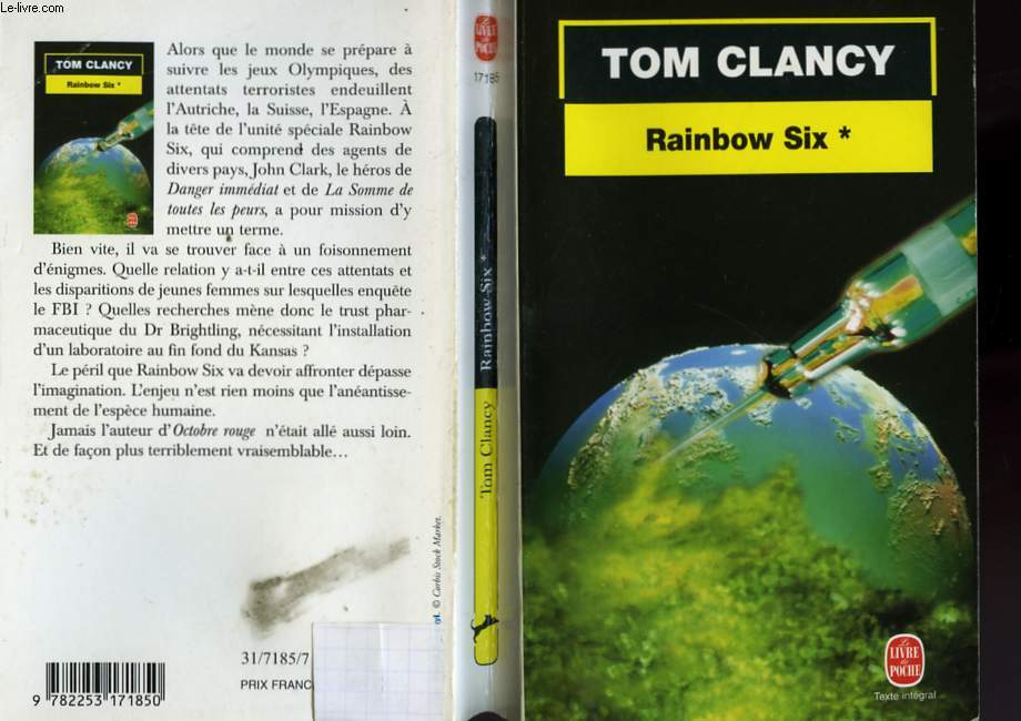 RAINBOW SIX TOME 1