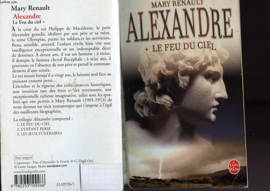 ALEXANDRE TOME 1 - LE FEU DU CIEL