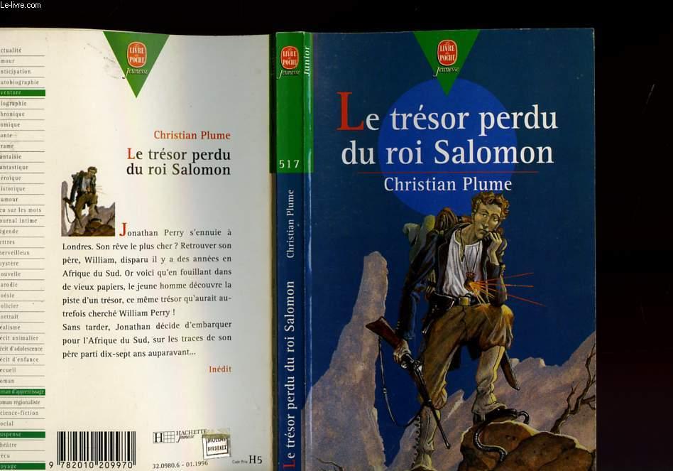 LE TRESOR PERDU DU ROI SALOMON