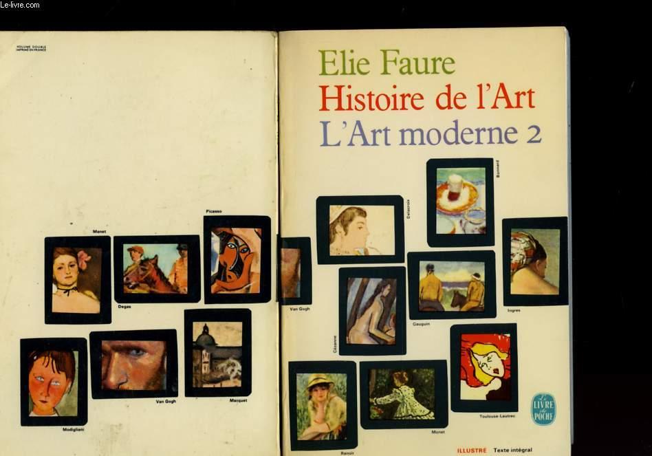 Histoire De L Art Moderne Tome 2