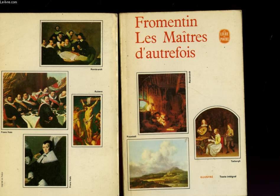 LES MAITRES D'AUTREFOIS